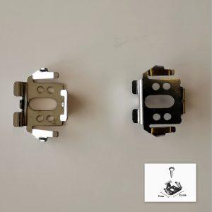 Plissee Universalhalter klein