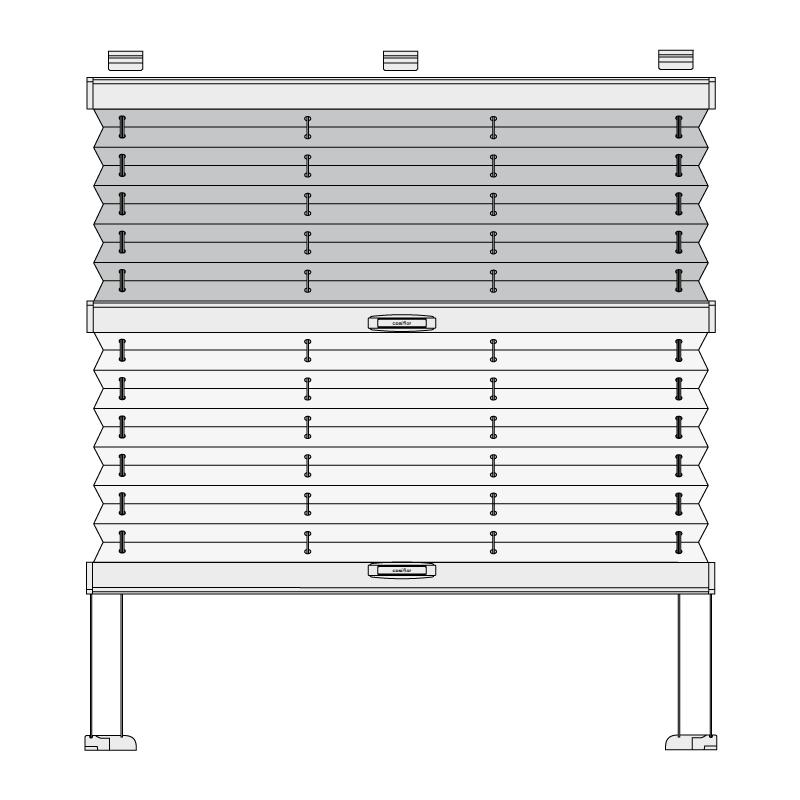 Cosiflor® DF-30 Plissee